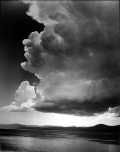 Thundercloud, Lake Tahoe, California, about 1938