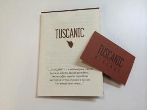 Tuscanic